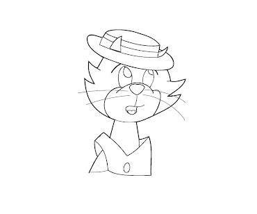 #9 Top Cat Coloring Page