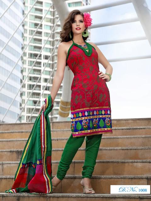 Designer Anarkali Salwar Kameez, Fancy Embroidery Anarkali Salwar Suits in Kanpur