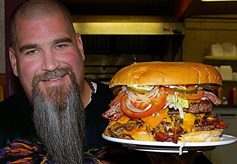 Man Vs Food Salt Lake City Crown Burger