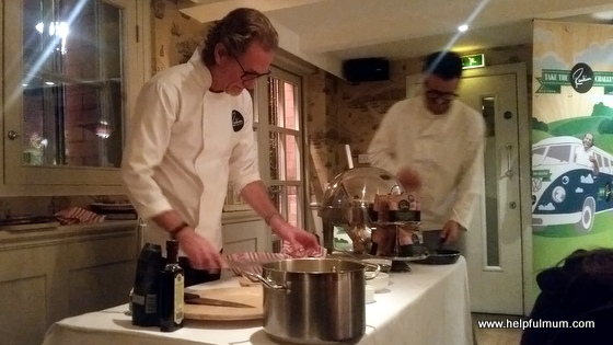 Paul Rankin cooking