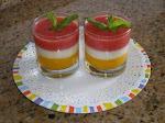 عصير بثلات طبقات