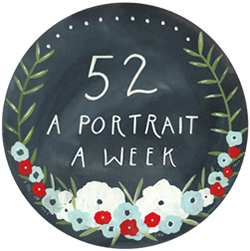 52 a portrait a week
