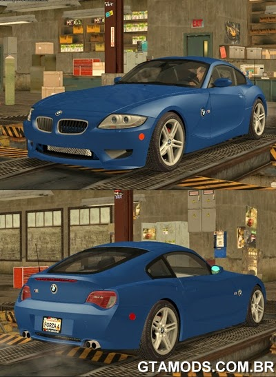 BMW Z4M Coupe 2008 - Stock