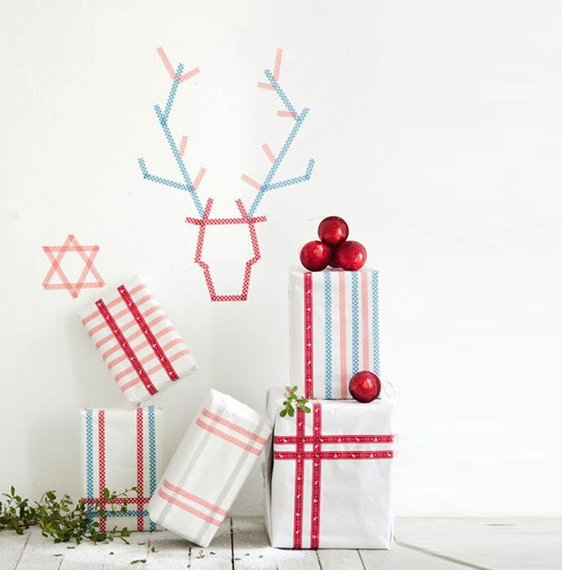 C mo decorar tus navidades con washi tape maria victrix - Decorar con washi tape ...