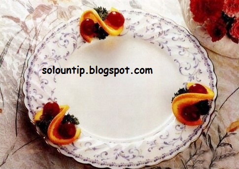 Como decorar un plato de comida con naranjas - Como decorar platos ...
