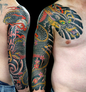 Stacie michelle japanese style tattooing in australia for Tattoo reviews sydney