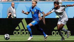 Brasil le rompió el corazón a Costa Rica