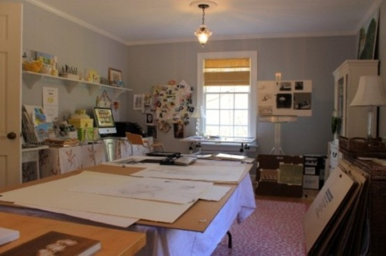 watercolor Artist Studio Designs