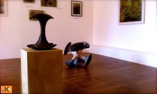 Exposition à la galerie le Ko de Huelgoat