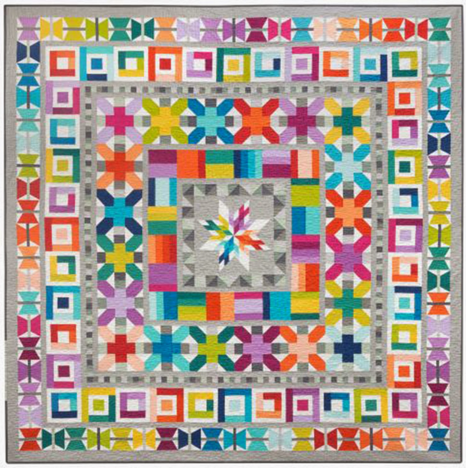 quilt paris medallion