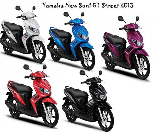 Yamaha New Mio Soul GT Street 2013 Spesifikasi dan Harga