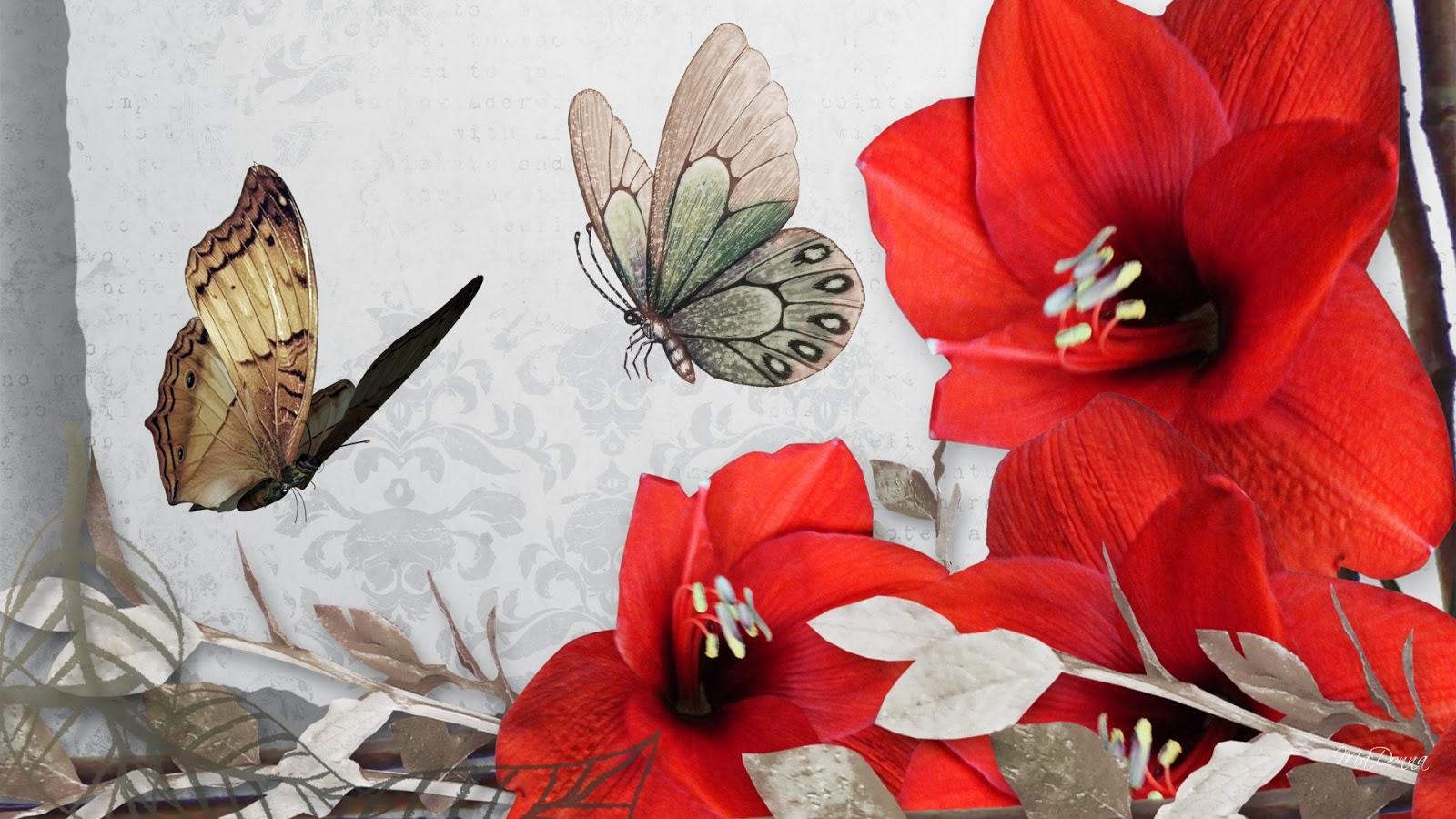 Vintage flower wallpaper beautiful desktop wallpapers 2014