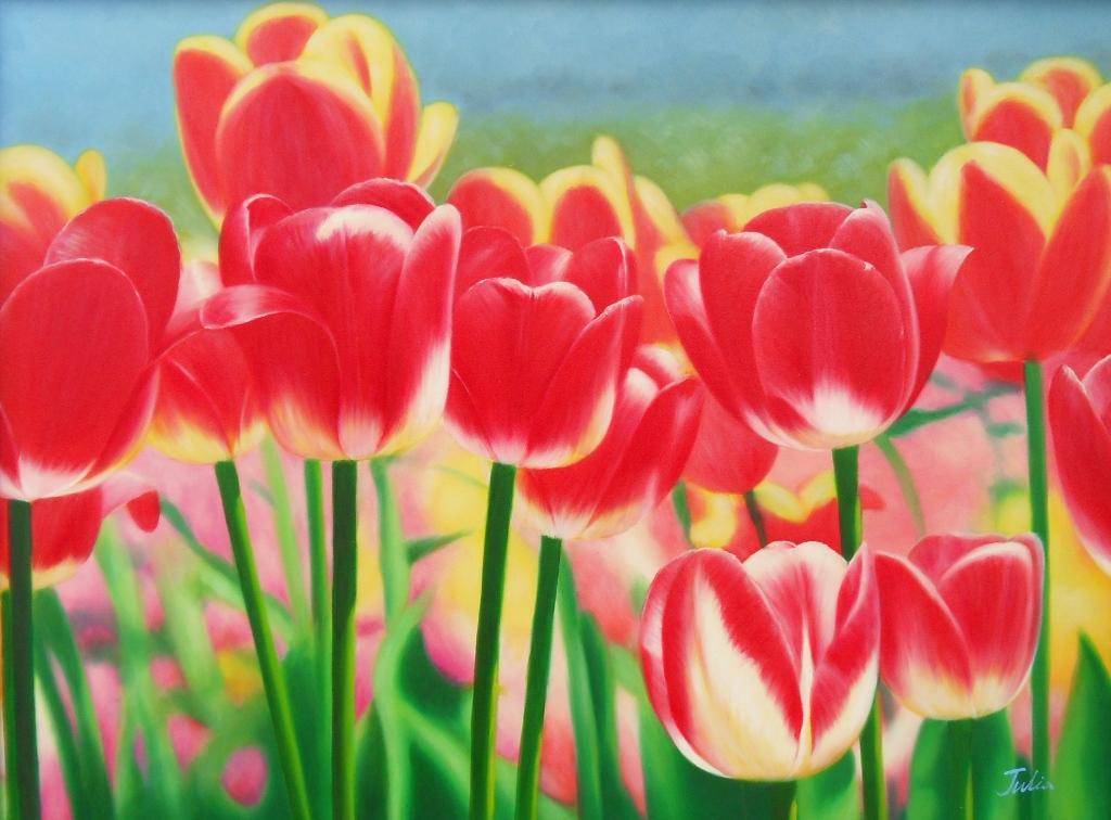 paisajesybodegones.comCuadros de Flores Exóticas