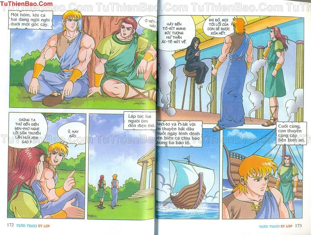 Thần thoại Hy Lạp Chapter 14 - Trang 85