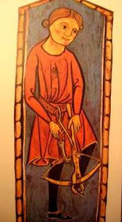 ballestero soldado medieval