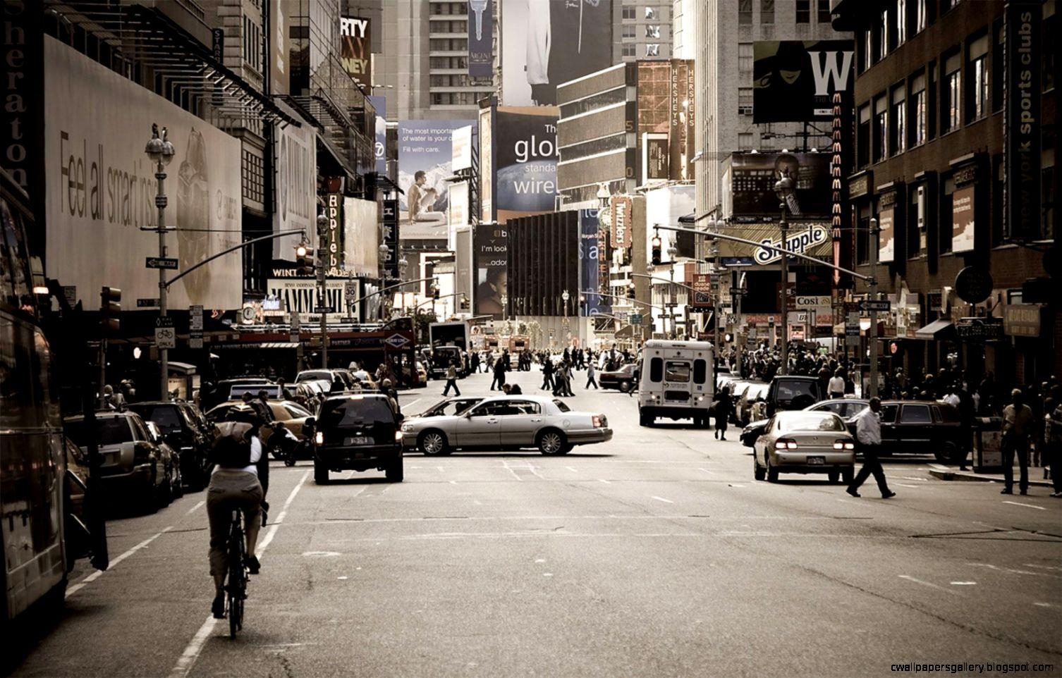 City Street Backgrounds