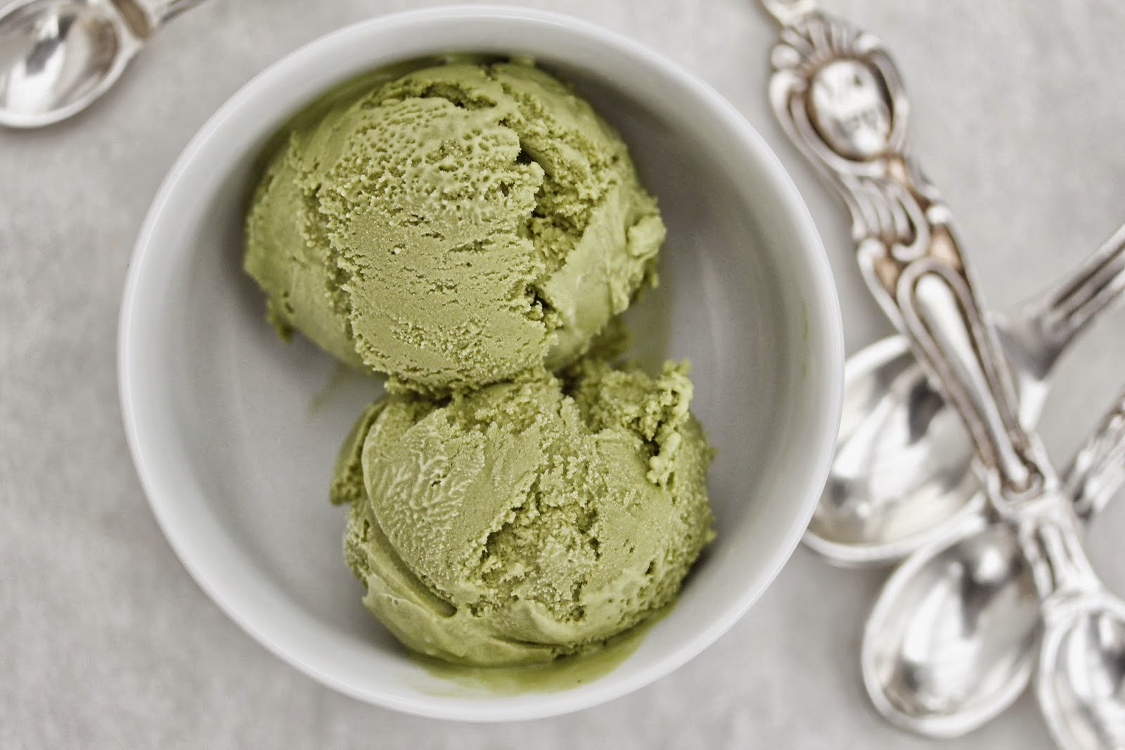 Green Tea Ice Cream | Scoop Adventures Cookbook Giveaway ...