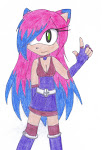 Kaliray Dark the Hedgehog