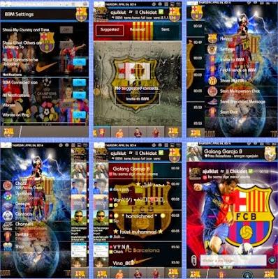 BBM Mod Bola Barcelona