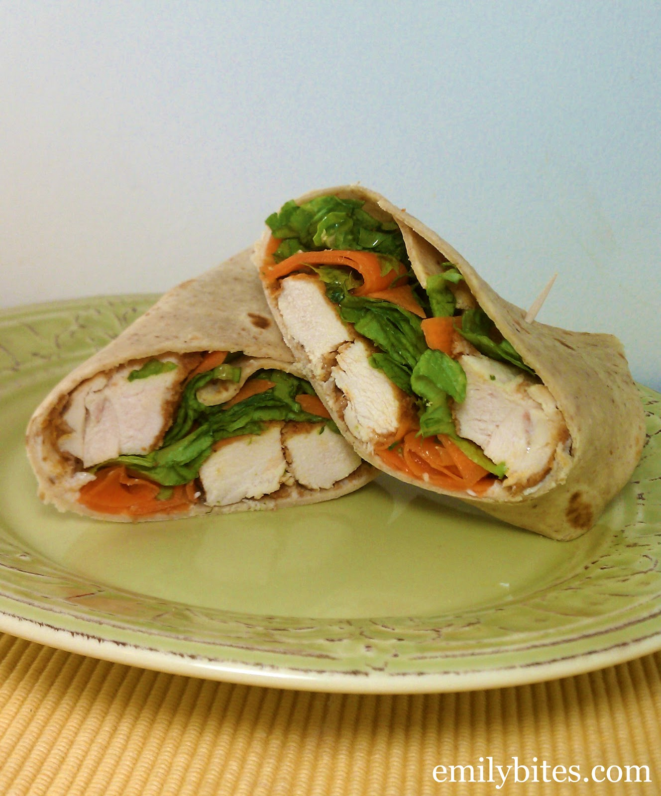 Buffalo Chicken Wraps - Emily Bites