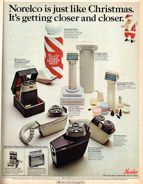 Norelco Print Ad