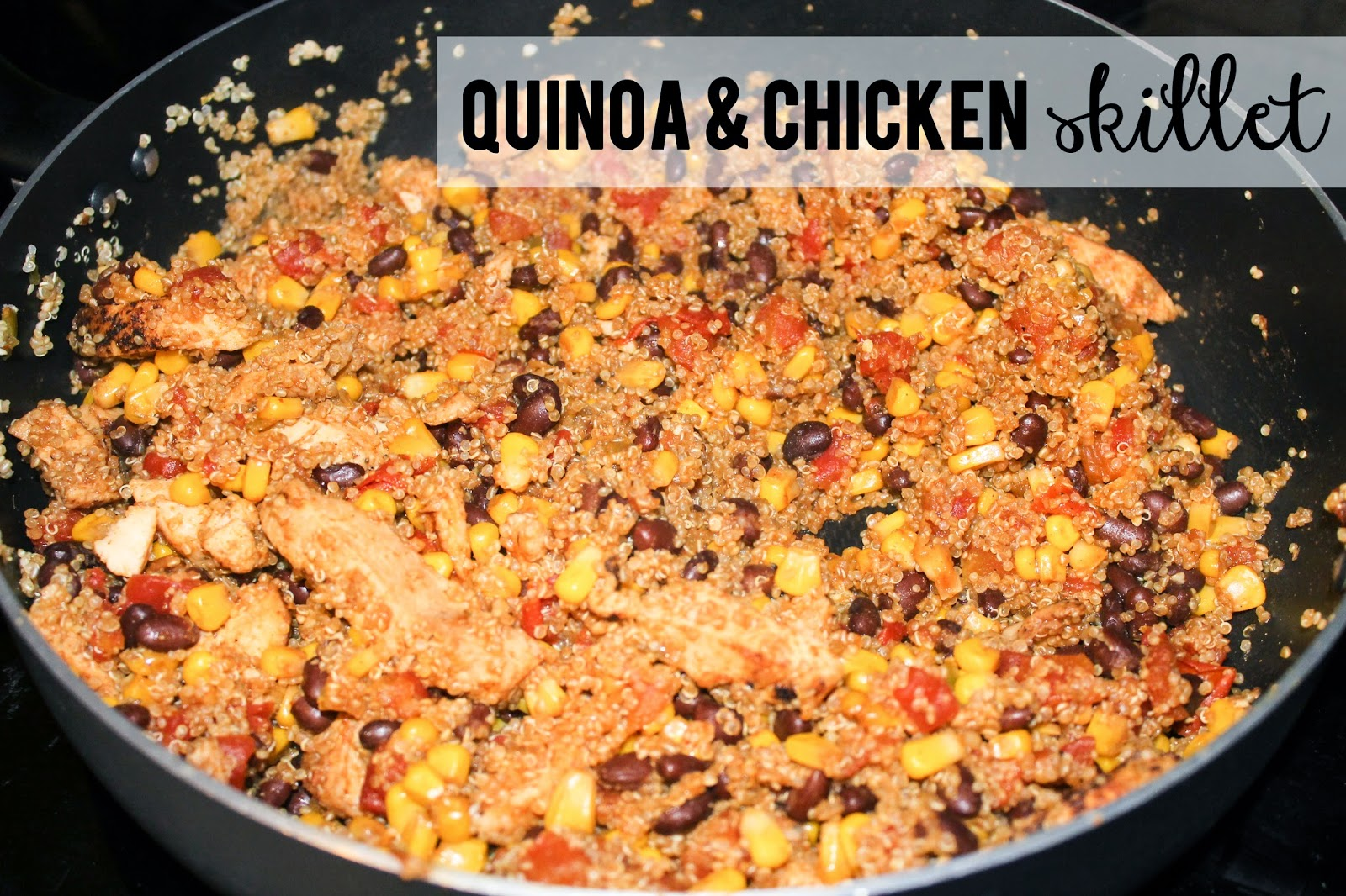 Quinoa & chicken skillet
