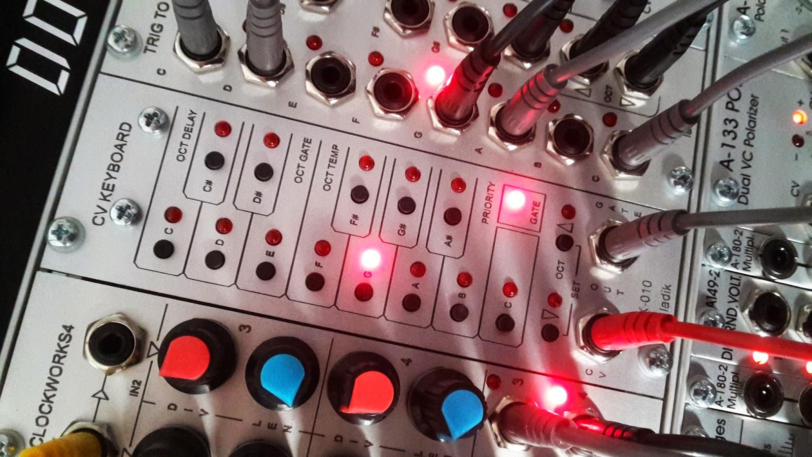 Ladik K-010 CV Keyboard