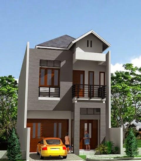 Desain Rumah Type 45 Berlantai 2 2014