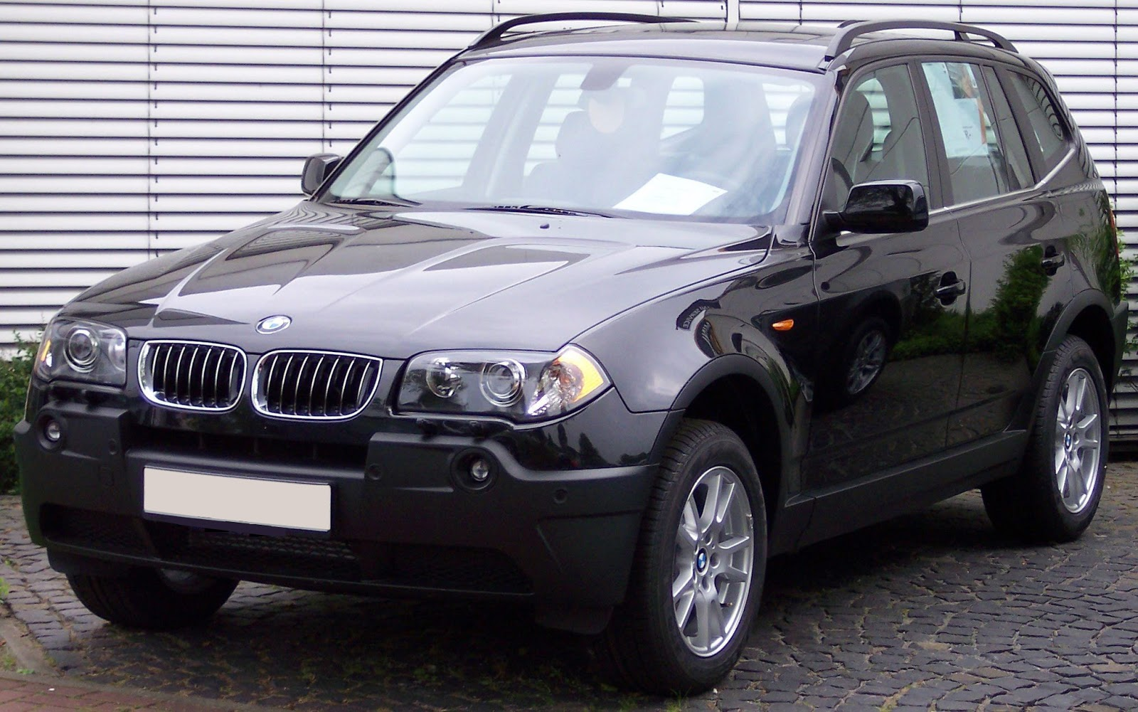 Automotive Database BMW X3