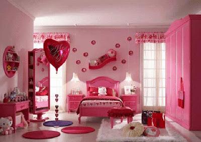 desain minimalis kamar tidur perempuan