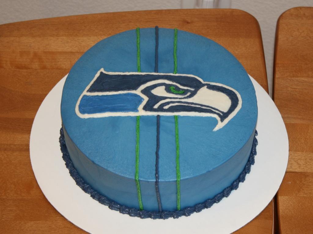 Party Cakes Seattle Seahawks Birthday Cake