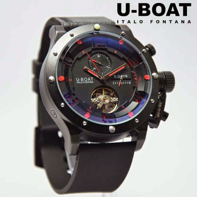 U-Boat Italo Turbilon Black merah