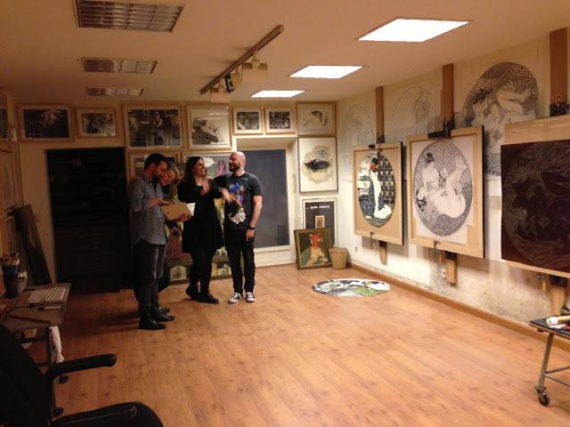Pasión japonesa de Fernando Bellver en Madrid - Atelier