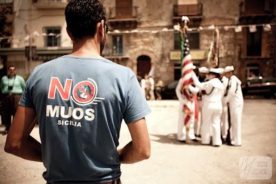 NO MUOS @ Gela allanniversario sbarco americani e inglesi by 19