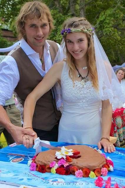 Laura Dekker with Husband Daniel Taelman