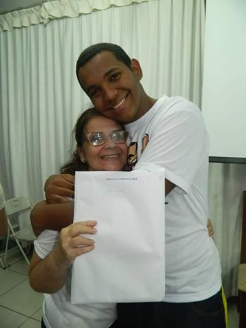 Márcia Maralhas- Mãe do Bruno Olivieri