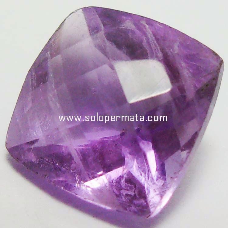 Batu Permata Kecubung Ungu Kalimantan - 06B05