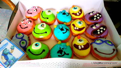 Krispy Kreme Monsters University Doughnuts