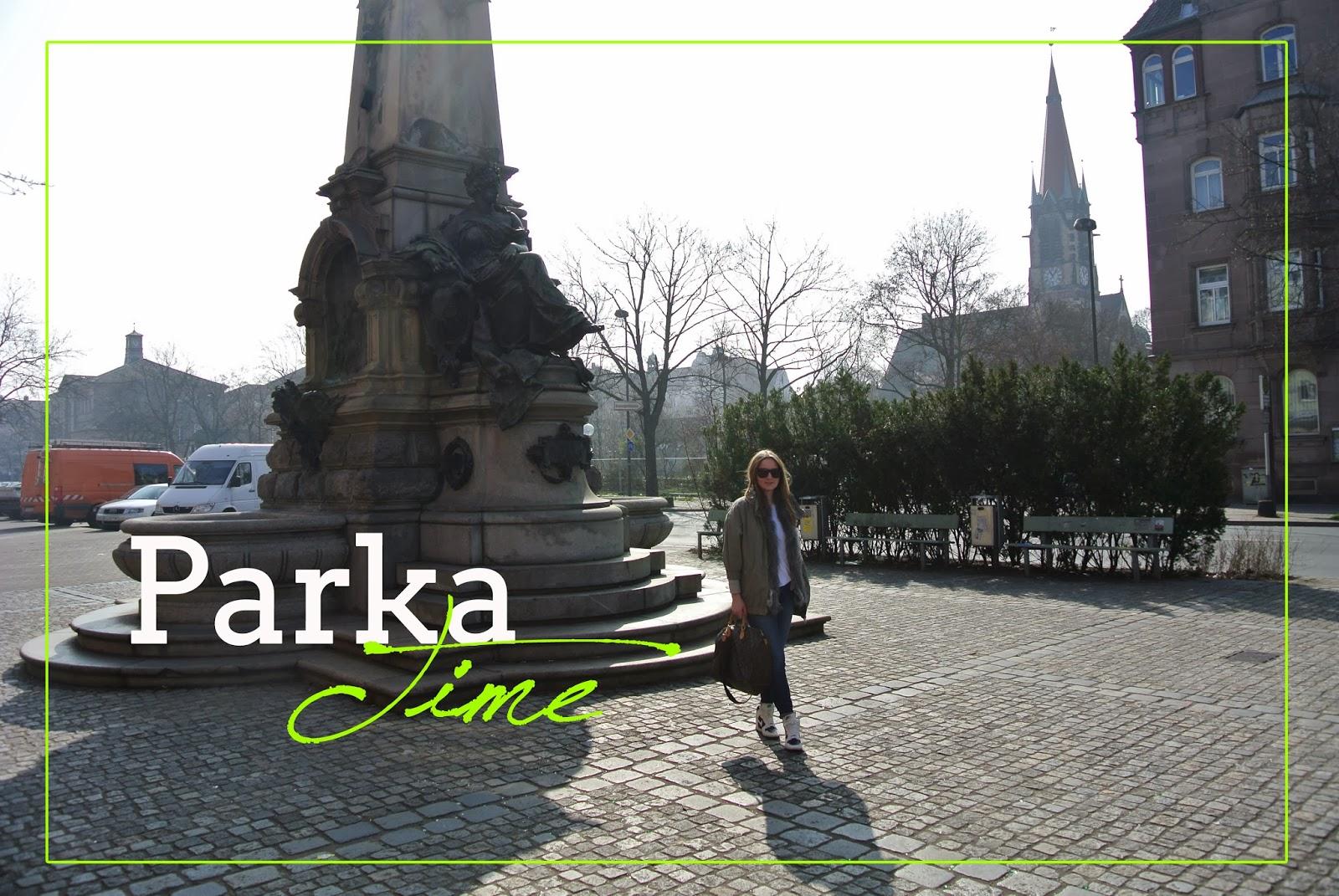 Parka Time Louis Vuitton Burberry