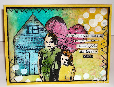 Mixed Media Stamps - Paper Bag Studios