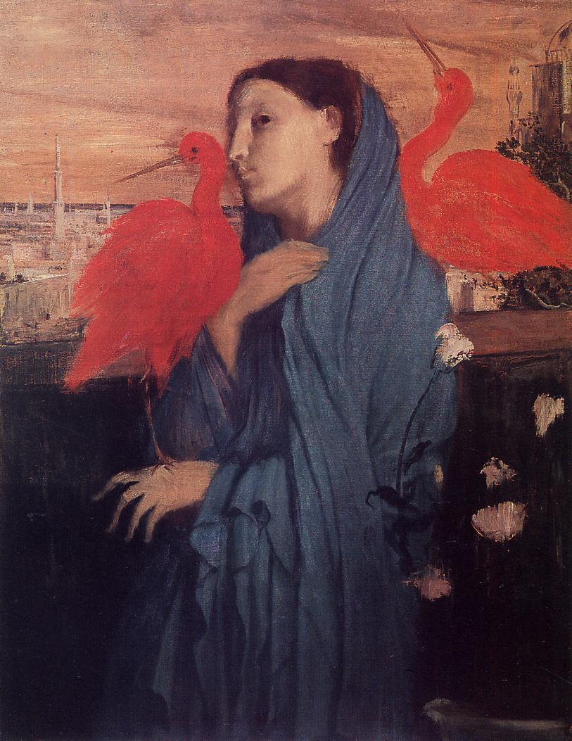 edgar degas femme ibis