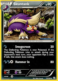 Skuntank Dragons Exalted Pokemon Card