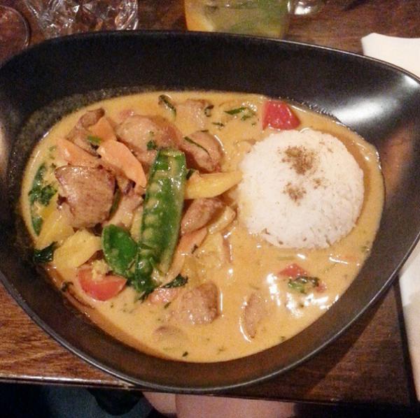 ALCINA Blogger Event - Glück und Seligkeit - Red Thai Curry