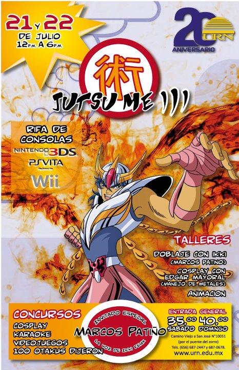 Jutsu-me III 2012 URN PosterURN
