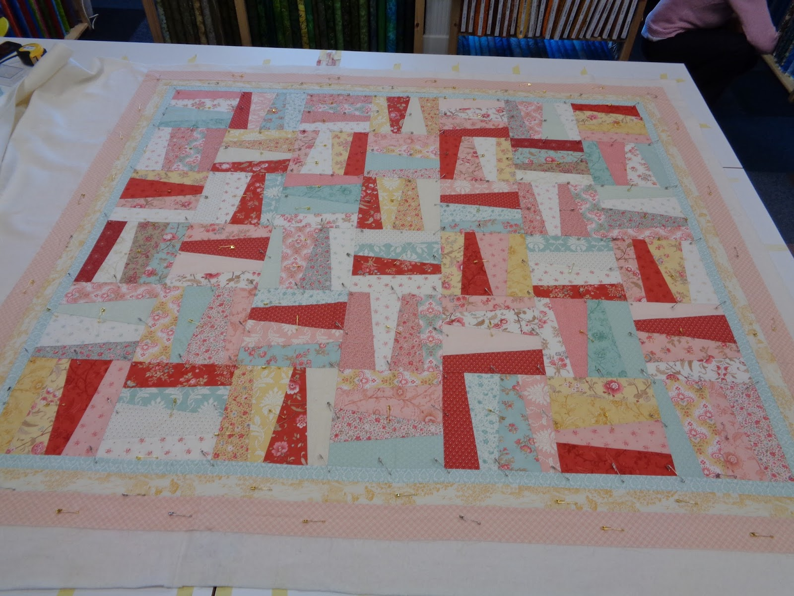 Cake Making Classes Stoke On Trent : Angie Quilts: Sandwiches... And A Place Mat!