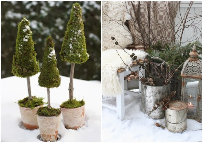natural outdoor winter decor t a n y e s h a