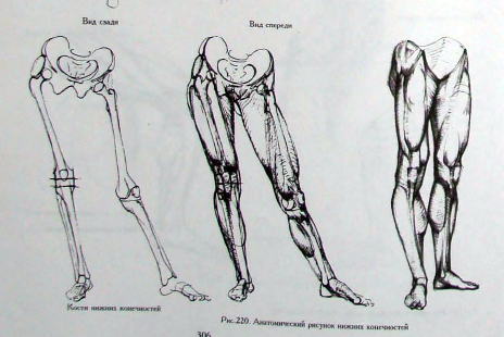 Russian Life Drawing in This Russian Figure Drawing
