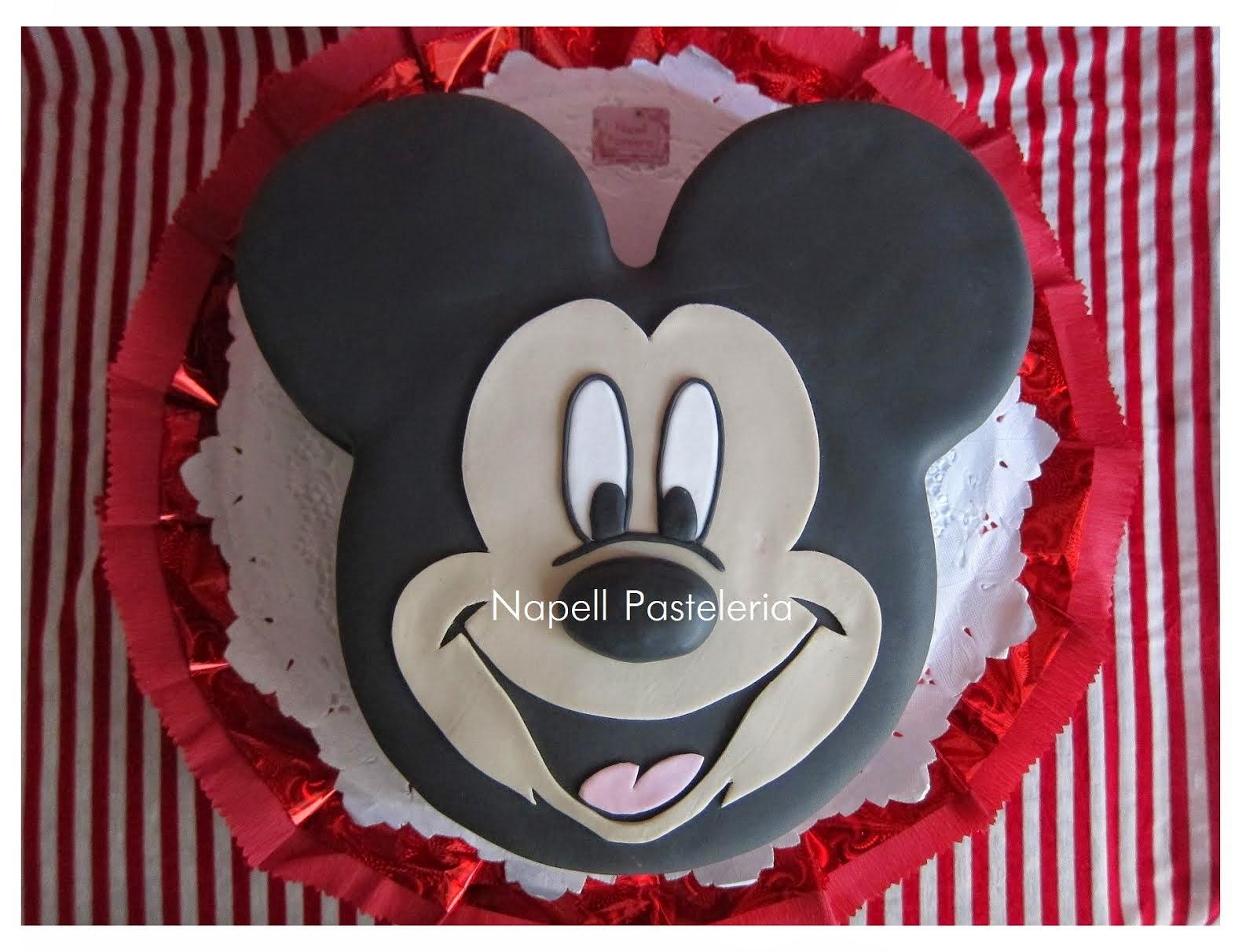 Torta Cara Mickey