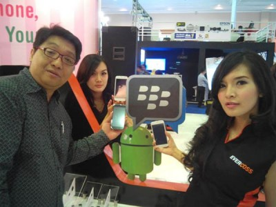 Evercoss Siap Rilis Smartphone BBM Pre-Install