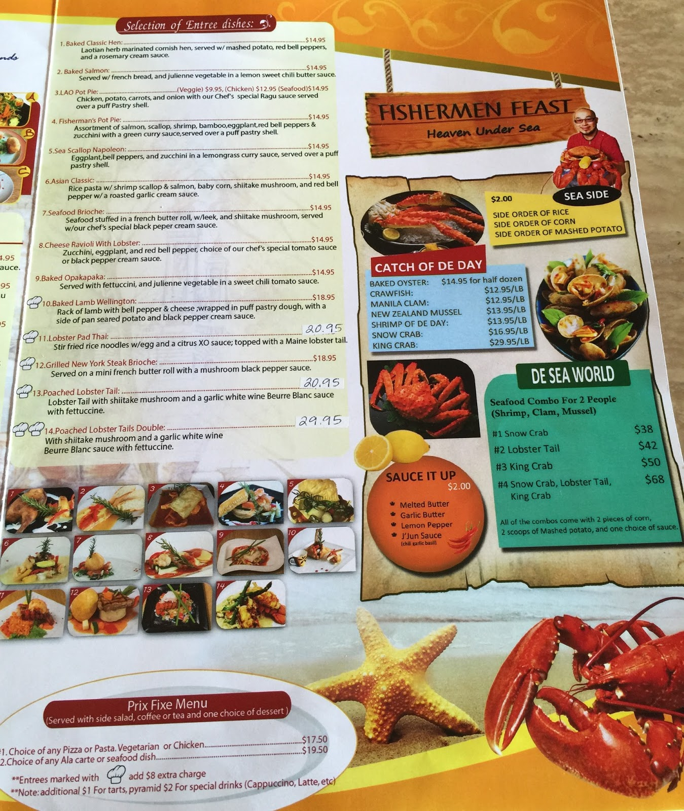 jj s entrees chef jj and me highly recommend the
